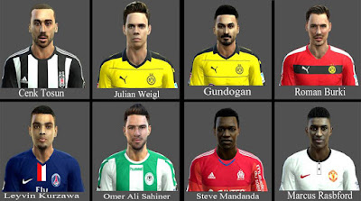 Mix Facepack 2016 Pes 2013 By-AbdKursun7