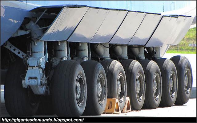 trem de pouso do Antonov An-225