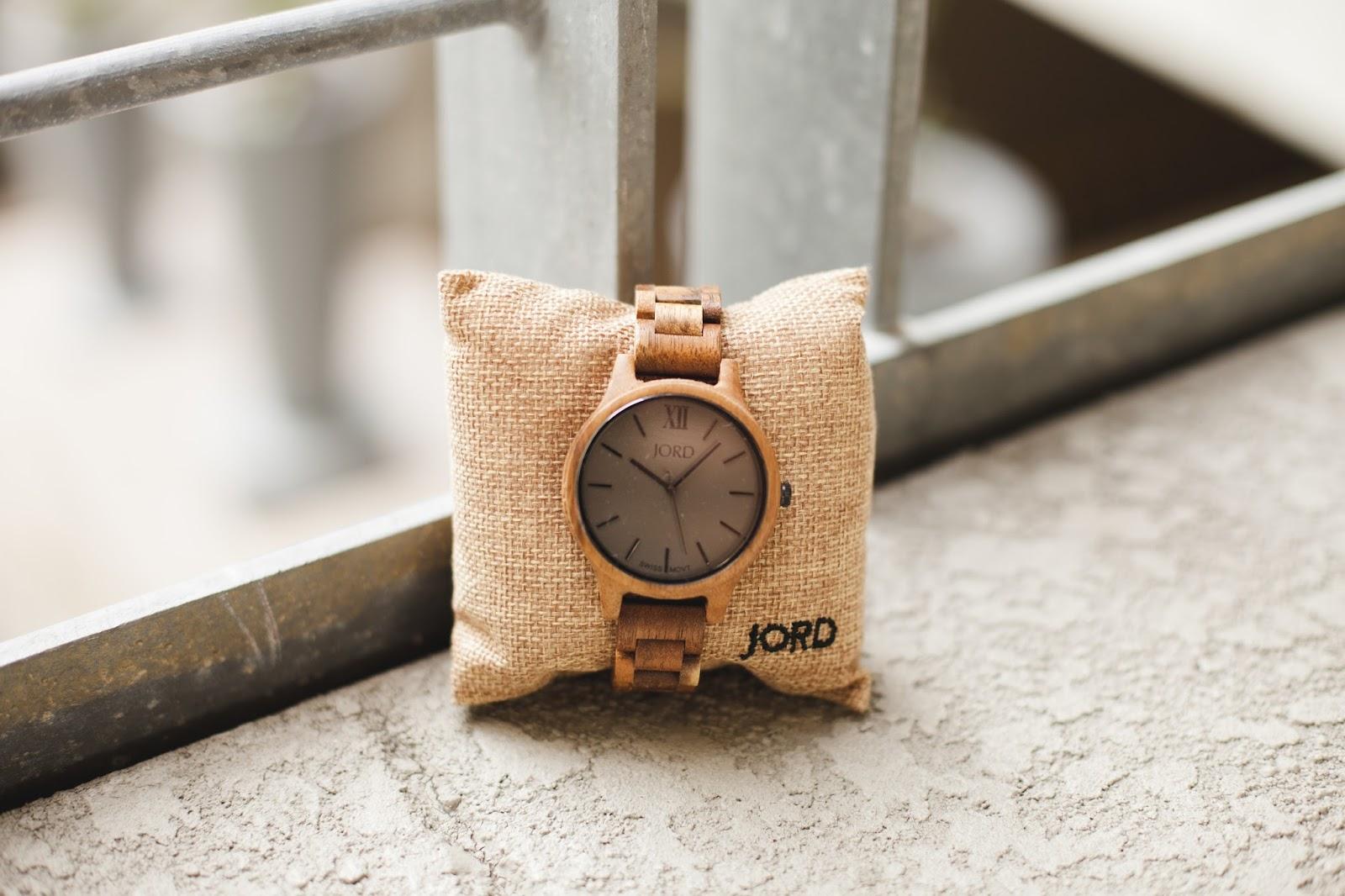 JORD Koa & Ash Watch