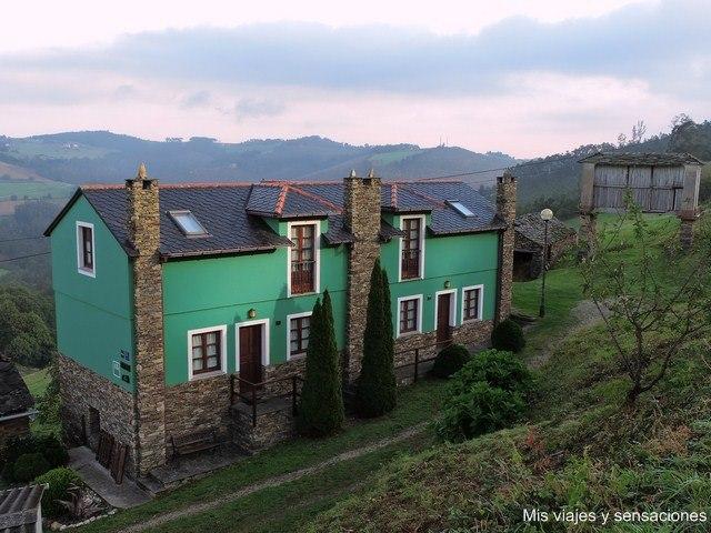 Alojamiento rural en Asturias: Apartamentos Castrovaselle