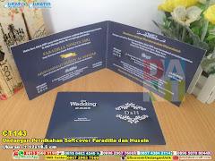 Undangan Pernikahan Softcover Faradilla Dan Husein