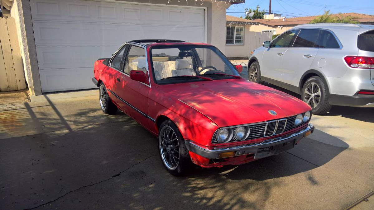 medium resolution of rare 1986 e30 bmw 325e baur tc2 5spd 2 7ltr inline 6 it was built for the european market by baur coach builders in germany it s a grey market vehicle