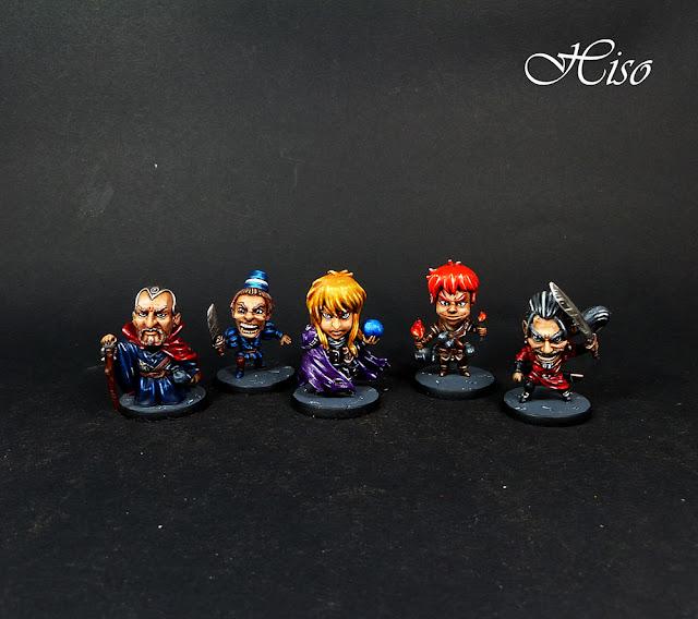 Arcadia Quest Promo heroes