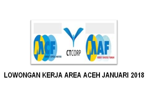 Lowongan Kerja di PT MACF Area Aceh