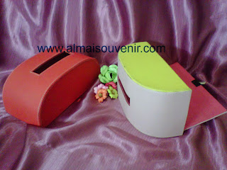 souvenir pernikahan eksklusif, souvenir box tisu finil