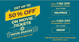 bookmyshow latest offers