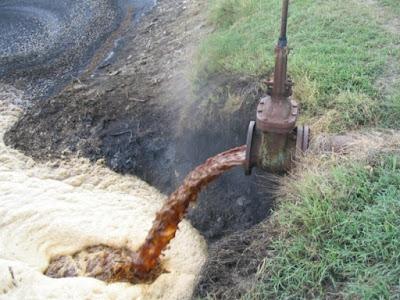 Contaminación química del agua
