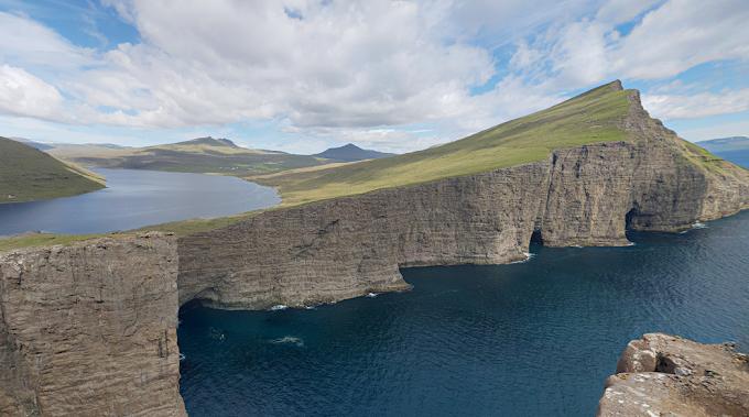 Calatorie online prin Faroe Island (Danemarca)