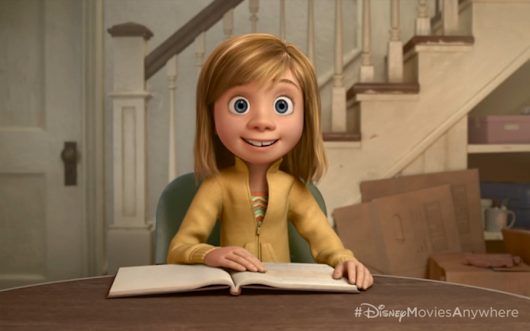 Com vocês: Riley, de Inside Out + Trailer do especial de Toy Story