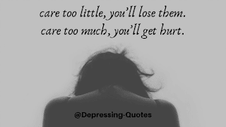 Depressing Quotes Images