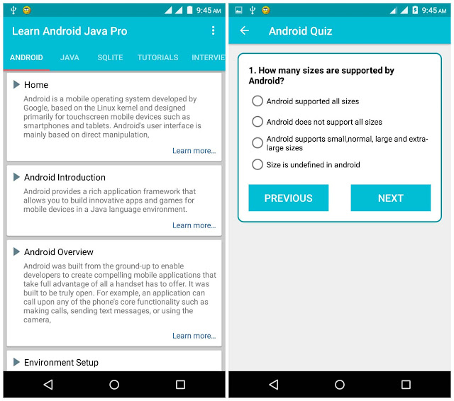 learn android java pro apk free download