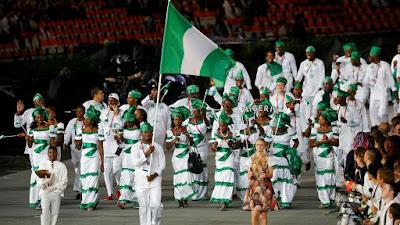 Nigerian Olympic Team in Rio 2016