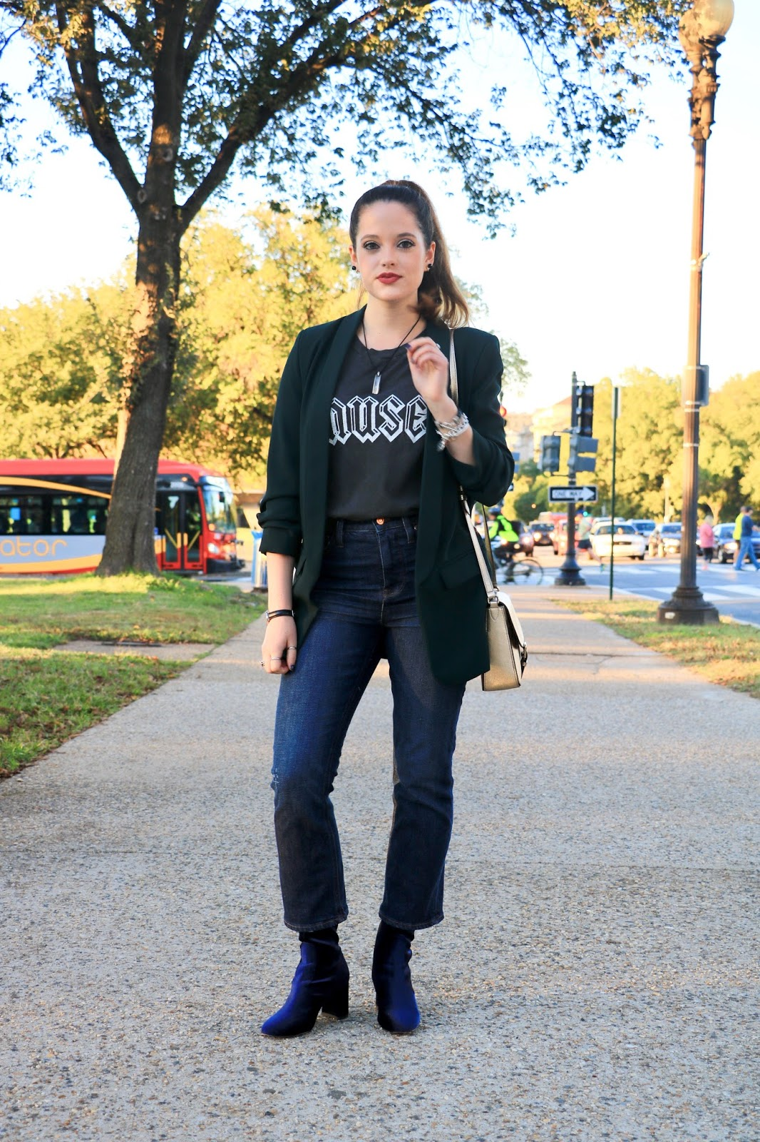 Nyc fashion blogger Kathleen Harper's fall outfits