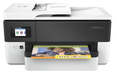 HP OfficeJet Pro 7720 Wide Format All-in-One Printer Review - Free Download Driver