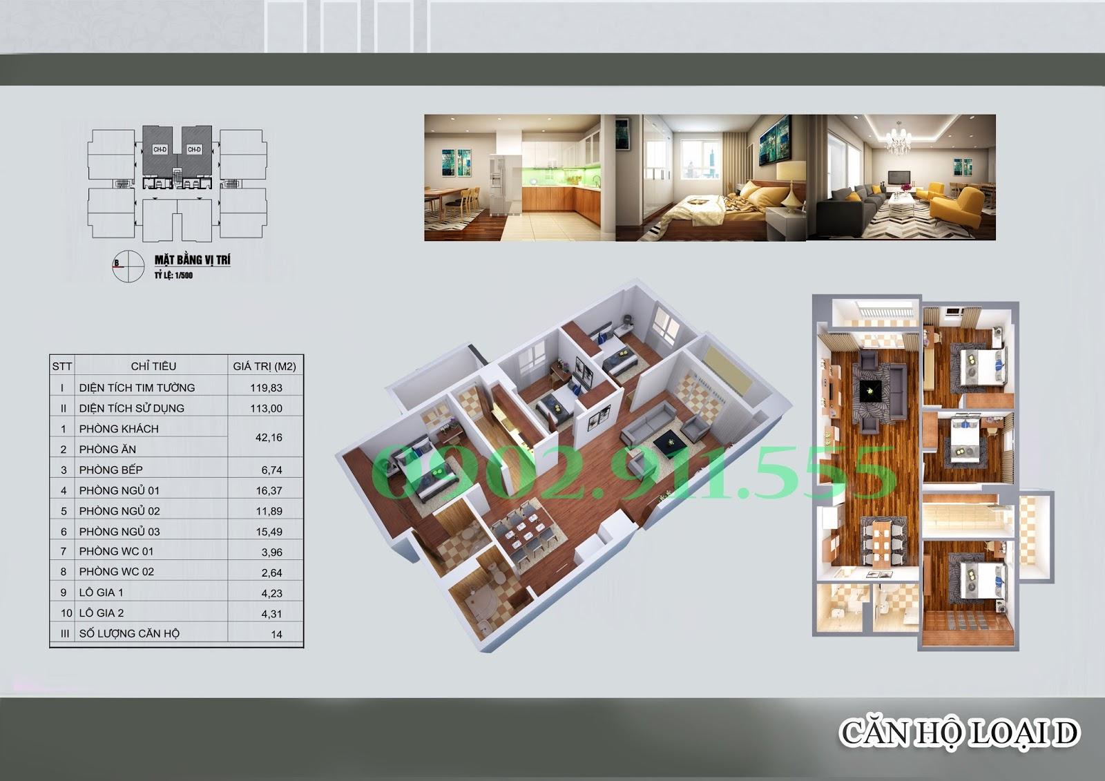 chung cư 129d trương định khuyến mại khủng - www.TAICHINH2A.COM