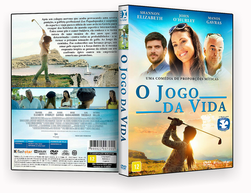 CAPA DVD – O Jogo Da Vida – ISO