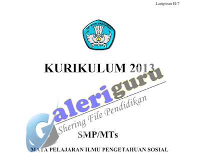 Contoh RPP IPS kelas 9 kurikulum 2013 revisi 2017 Tahun Ajar 2018 - Galeri Guru