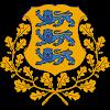 Logo Gambar Lambang Simbol Negara Estonia PNG JPG ukuran 100 px