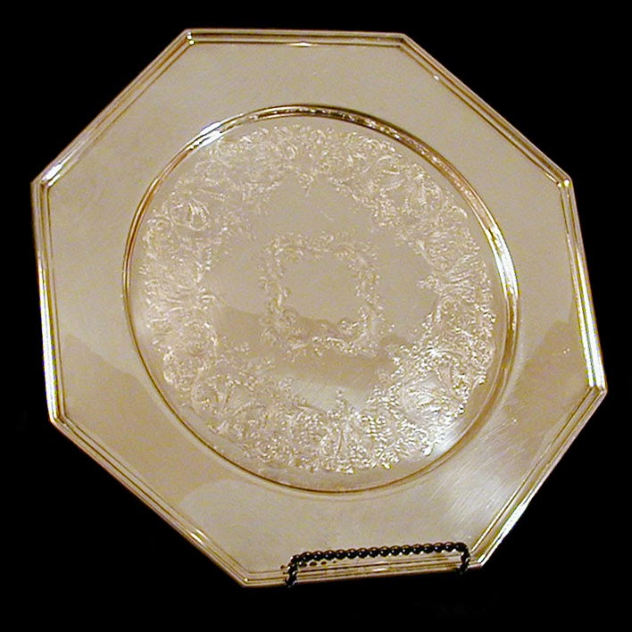 1985 Engraved Silver Plate, Wallace Silversmiths