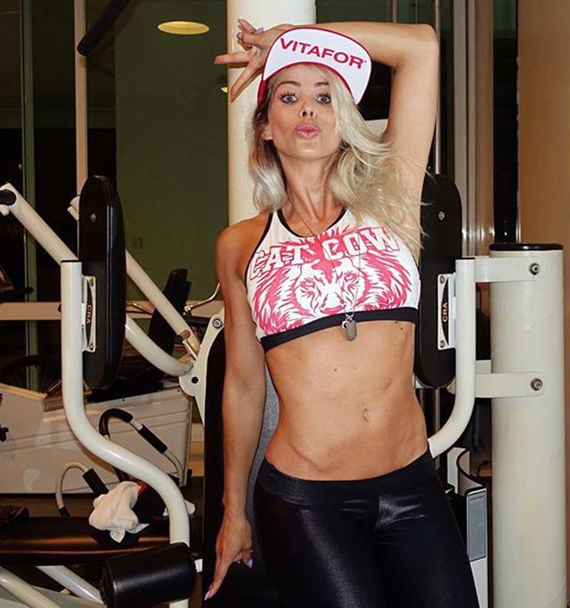 Fitness Model Karina Bacchi Instagram photos
