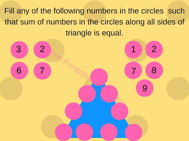 Math Number Triangle Puzzle-4