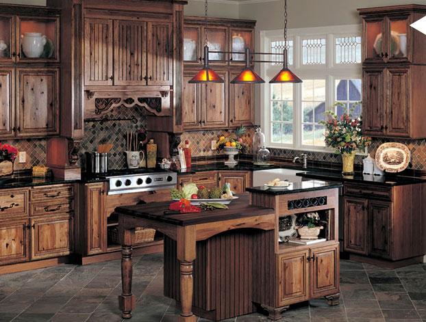 Retro Country Kitchen Decor