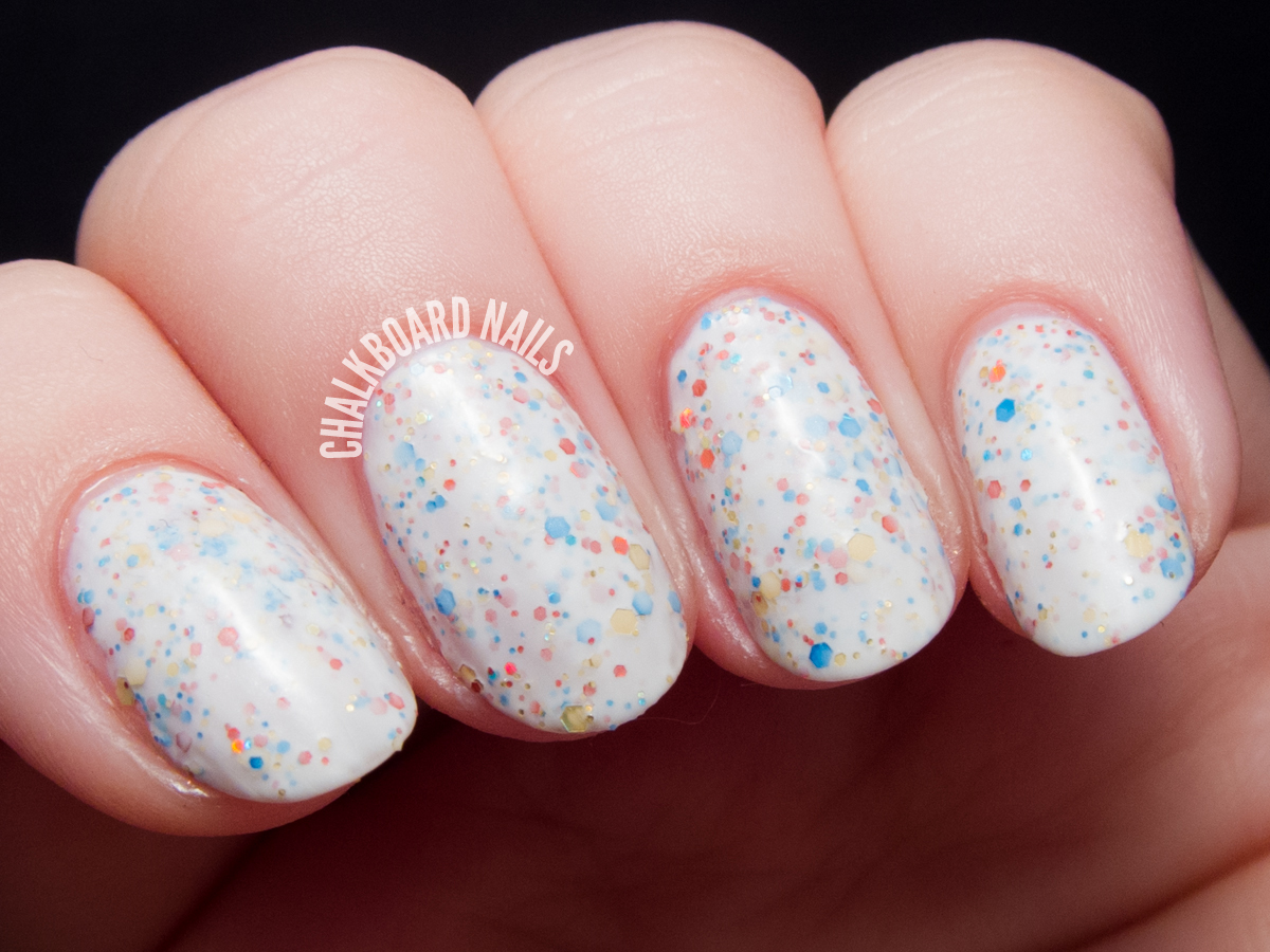 Serum No. 5 First Colors via @chalkboardnails