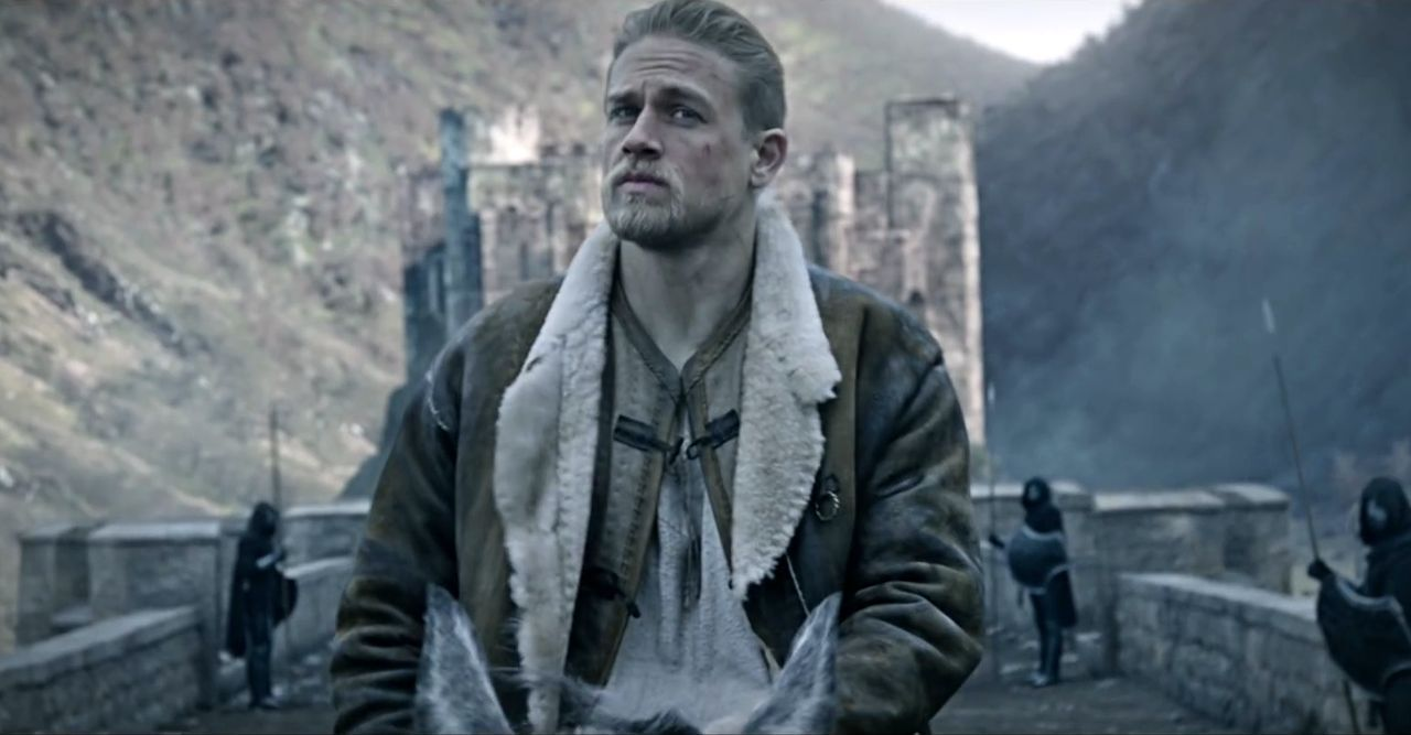 In Theaters KING ARTHUR LEGEND OF THE SWORD SNATCHED THE WALL