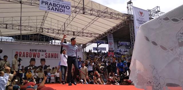Kampanye Akbar di Bandung, AHY Ajak Warga Jabar Menangkan Prabowo-Sandi