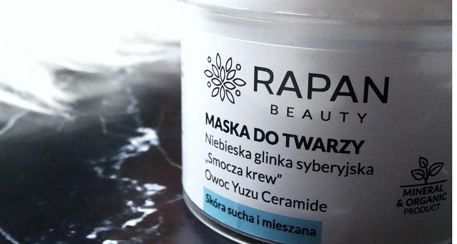 wegańskie kosmetyki, niebieska glinka rapan beauty, power of nature, smocza krew