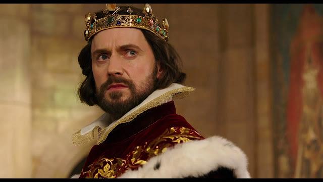 Richard Armitage jako król Oleron