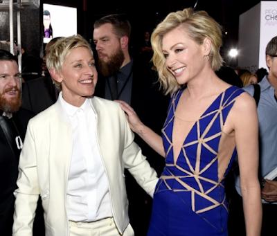 Ellen DeGeneres dan Portia de Rossi