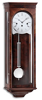 Regulator Wall Clock Palladio 31-Day Walnut Kieninger 2512-23-03
