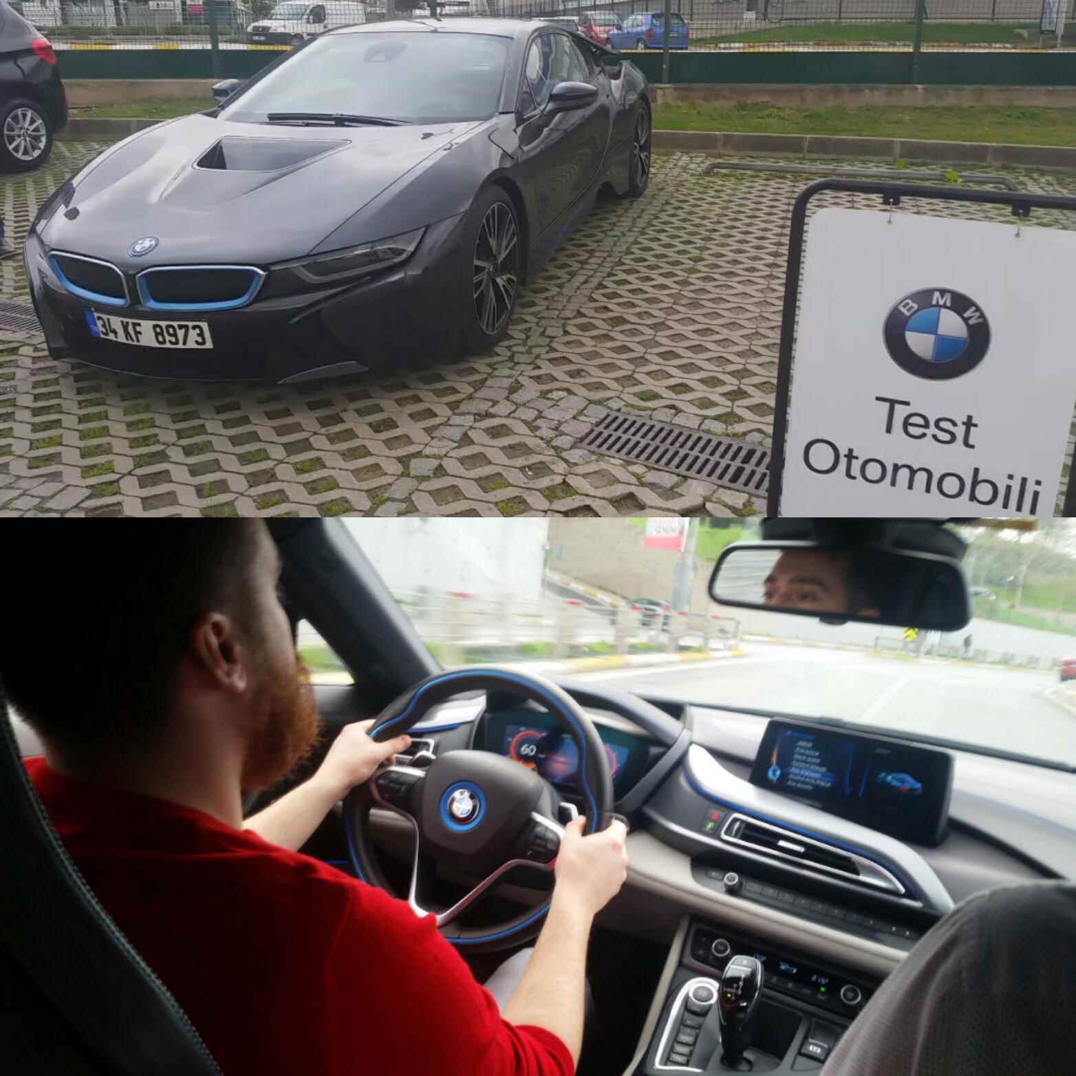 Bmw I8 362hp Test Surus Um Turgut Alkim Tutumlu Car Designer