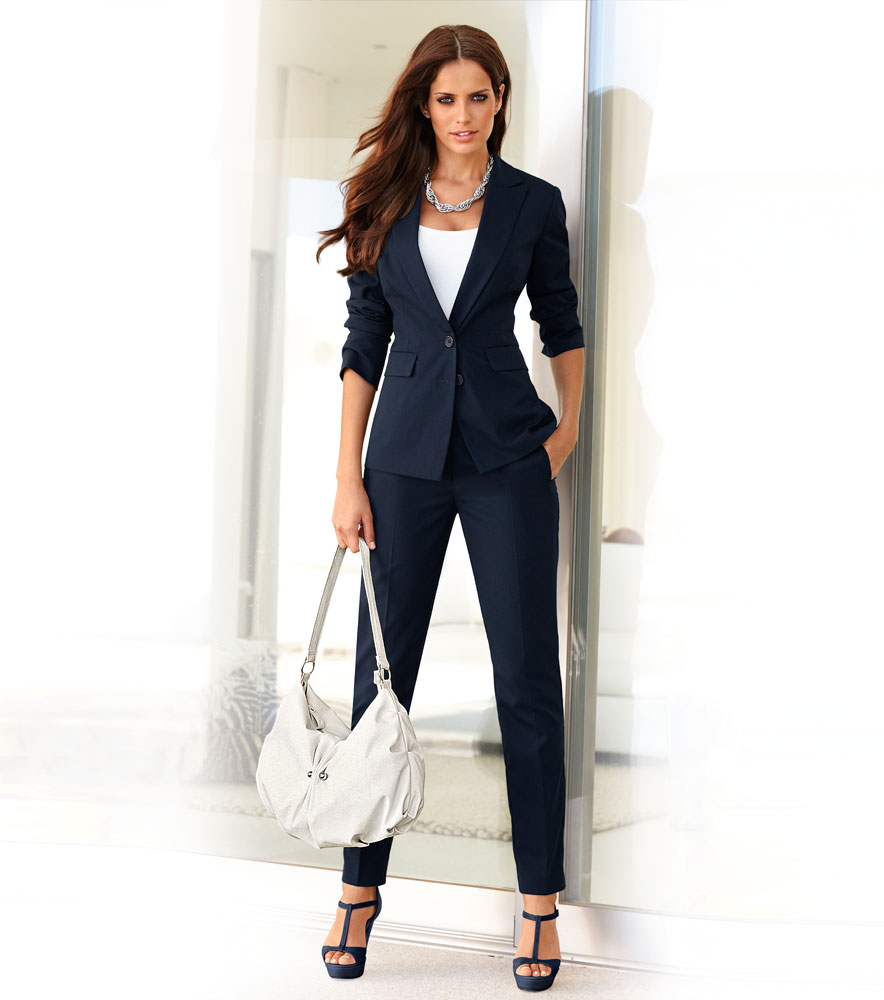 Catalogo de uniformes para oficinas 2013 14 pantalones for Chaquetas guapas