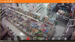 Pantauan dan Setting CCTV Online pada TOKO BUKU TAQWA Muhammadiyah Sumatera Barat - Padang