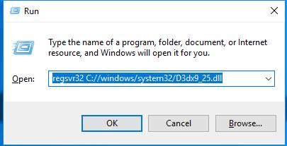 Télécharger D3dx9_25.dll Fichier Gratuit Installer