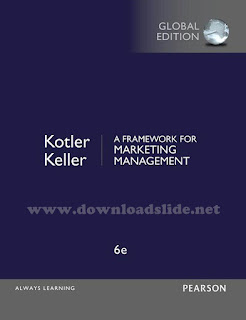 A Framework For Marketing Management 6th Edition by Kotler & Keller (Global Edition)