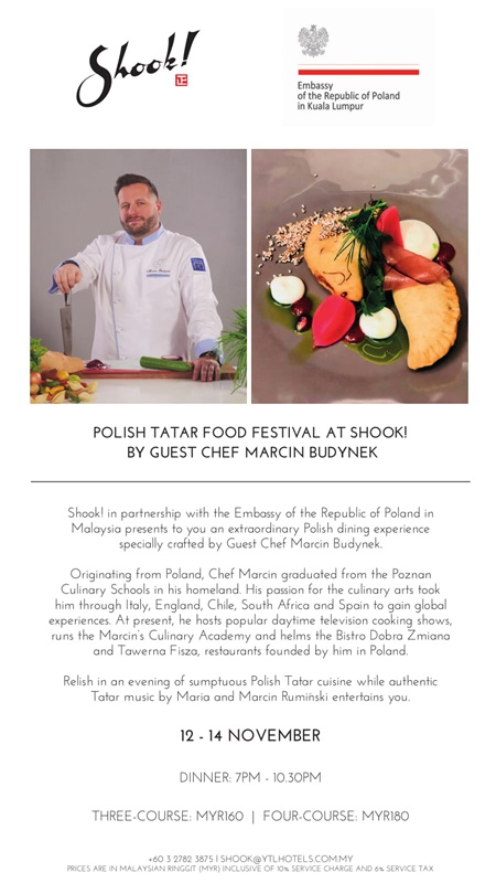 POLISH TATAR FOOD FESTIVAL AT SHOOK!