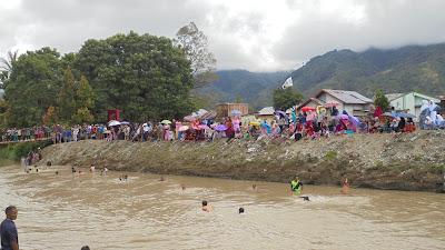 Hari Ke 3 Pencarian Korban Hilang Di Sungai Kadis BPBD kerinci Darifus Turut Meninjau Lokasi.
