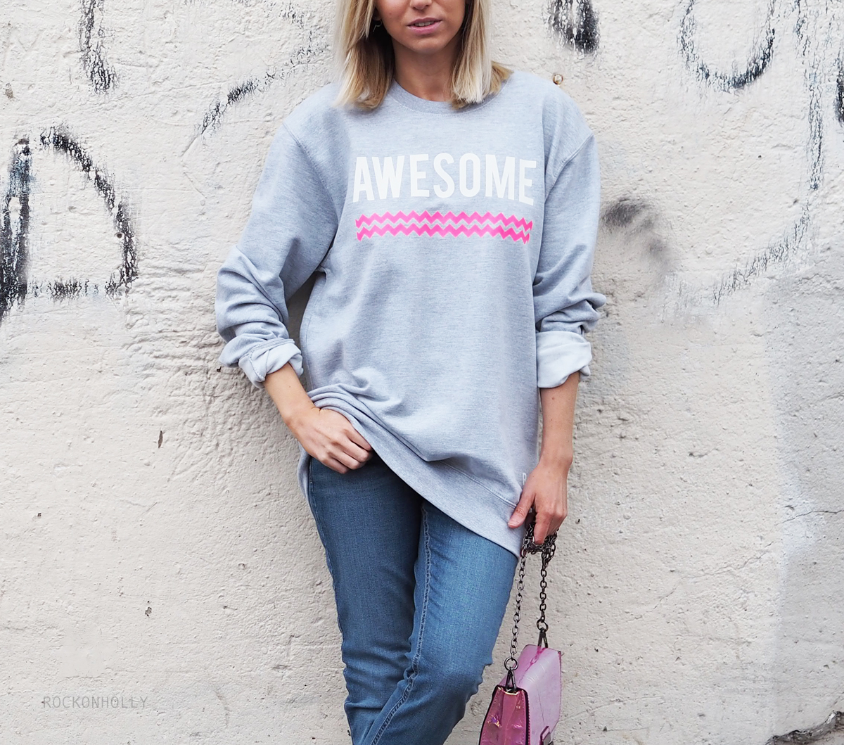Awesome Tribal Jumper on the Rock On Holly Fashion Blog