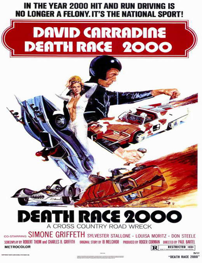 Ver Carrera mortal (Death Race 2000) (1975) Online