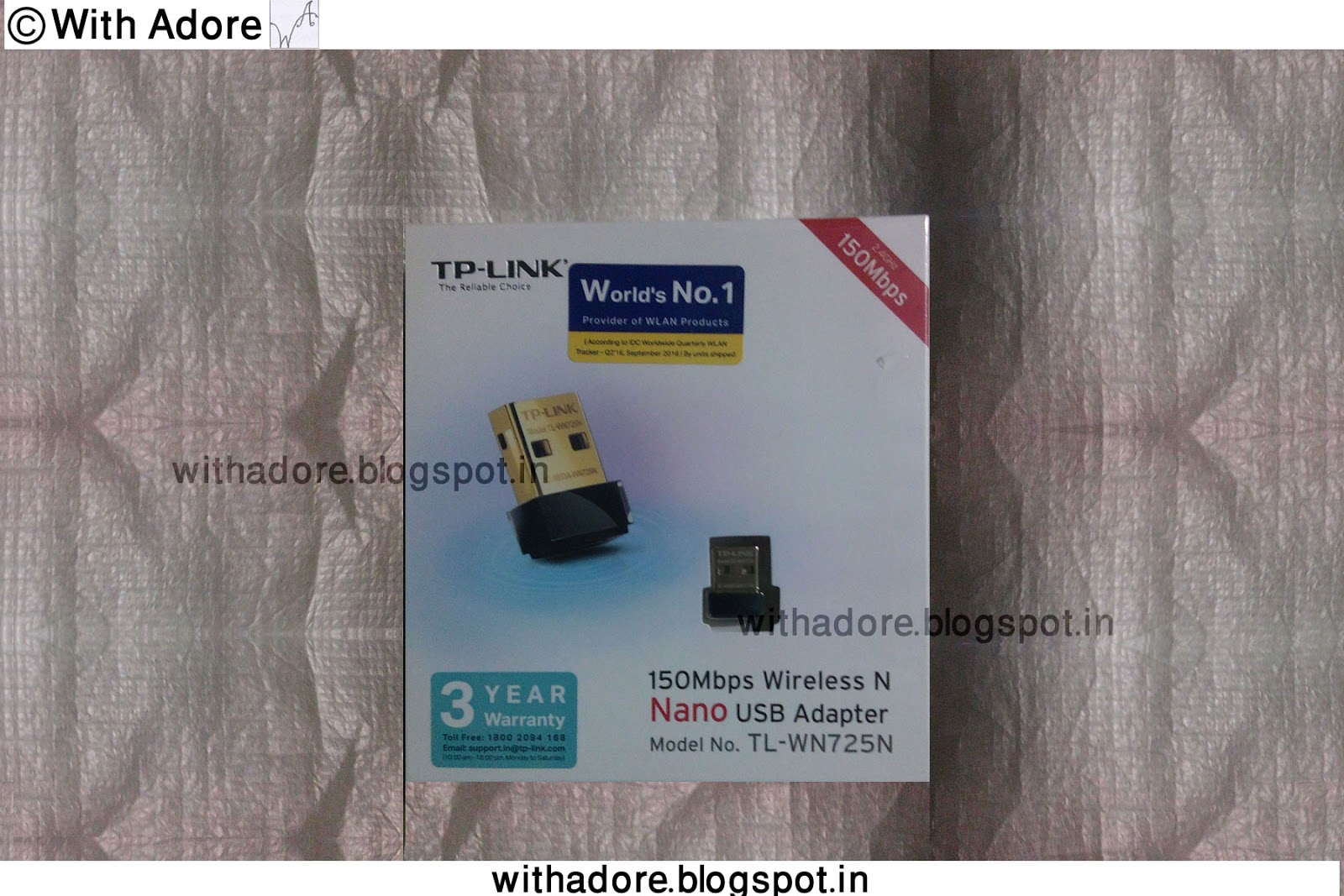 Tp Link Usb Wi Fi Adaptor Tl Wn725n Review With Adore Nano Wireless Adapter 150 Mbps Type Model Speed Warranty 3 Year Manufacturer About