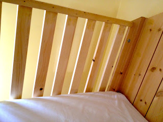 clubhouse bed end railings