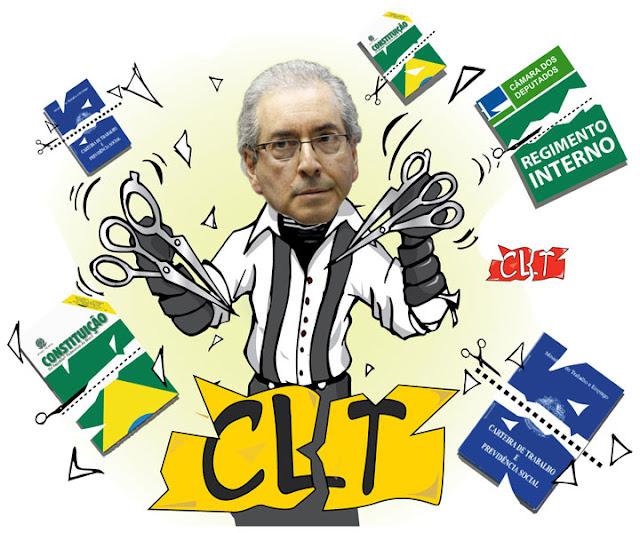 Resultado de imagem para humor Eduardo Cunha