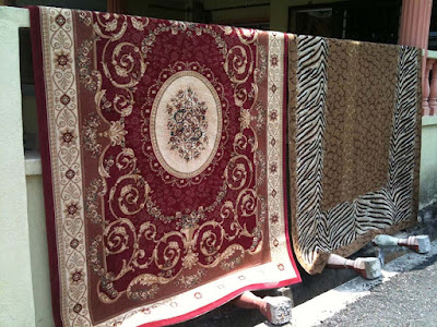 Cara Mencuci Karpet Manual