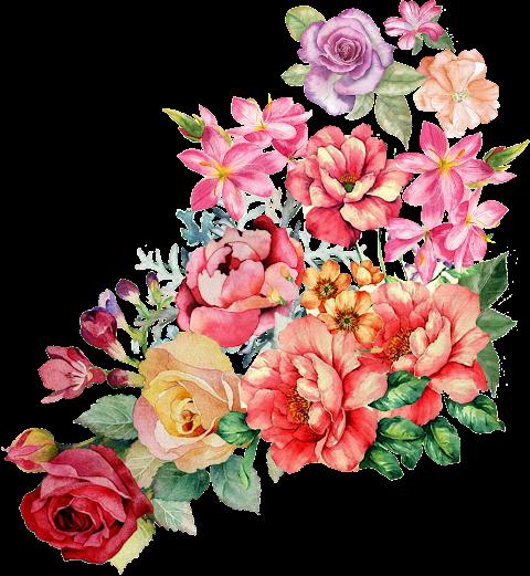 Flower Patch for Textile Design
