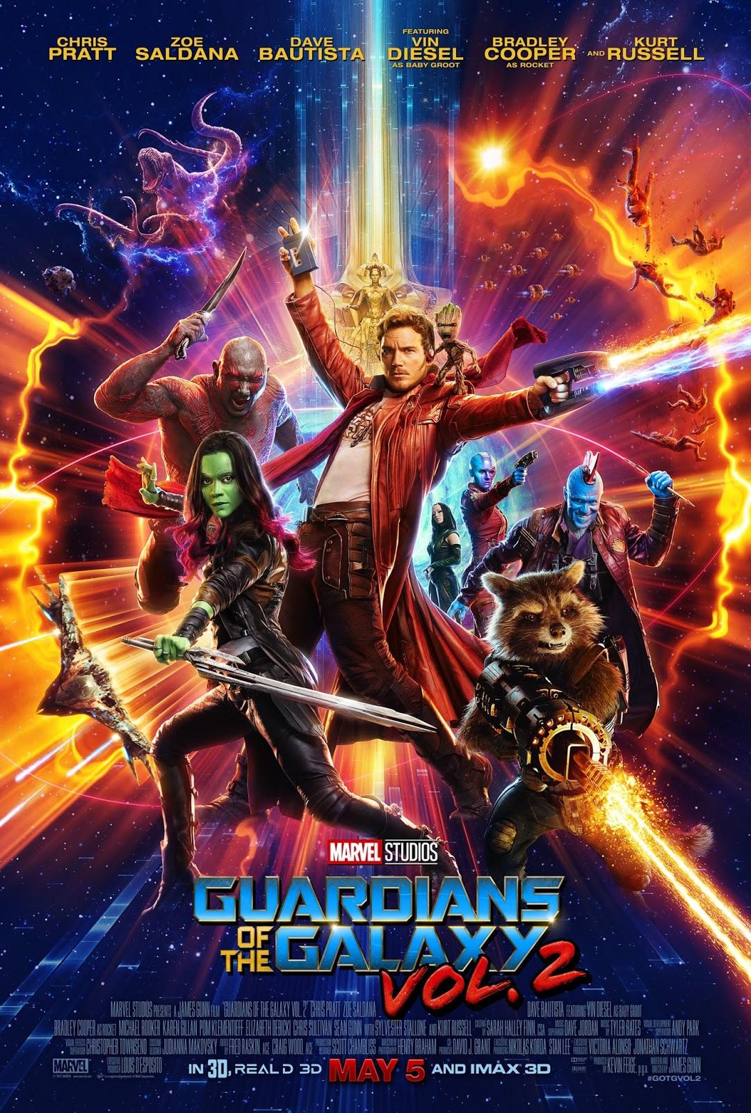 ตัวอย่างหนังใหม่ : Guardians of the Galaxy vol.2 (รวมพันธุ์นักสู้พิทักษ์จักรวาล 2) ซับไทย  poster4