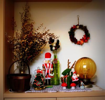 クリスマスのインテリア