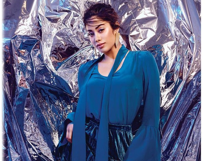 Janhvi Kapoor Dazzled On The Cover Page Of December Edition's L'Officiel India Magazine!